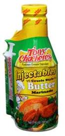 Tony Chachere's Injectable Butter Marinade, 17 fl oz