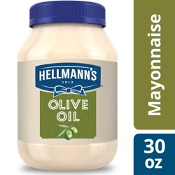 Hellmann's Mayonnaise Dressing for Delicious Sandwiches with Olive Oil Mayo Rich in Omega 3-ALA 30 oz