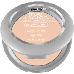 L'Oreal Paris True Match Super-Blendable Oil Free Makeup Powder, Light Ivory, 0.33 oz.