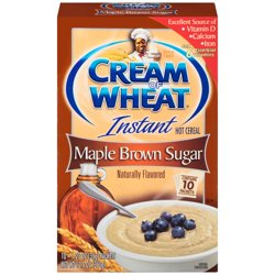 Cream of Wheat® Maple Brown Sugar Instant Hot Cereal 10-1.23 oz. Packets