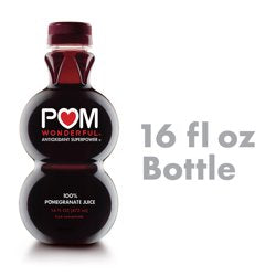 POM Wonderful 100% Pomegranate Juice, 16 Ounce