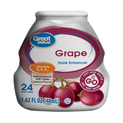 Great Value Grape Drink Enhancer, 1.62 Fl. Oz.