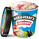 Ben & Jerry's Strawberry Cheesecake Ice Cream, 16 oz