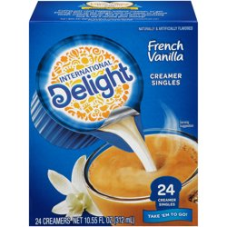 International Delight French Vanilla Creamers, 24 Ct