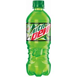 Mtn Dew Soda 20 fl. oz. Bottle