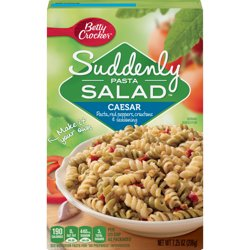 Betty Crocker Suddenly Salad Caesar Pasta Salad Dry Meals 7.25 Oz Box