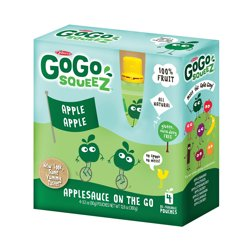 GoGo Squeeze Organic Applesauce - Apple - 3.2 oz.