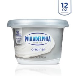 Philadelphia Original Cream Cheese Spread, 12 oz Tub