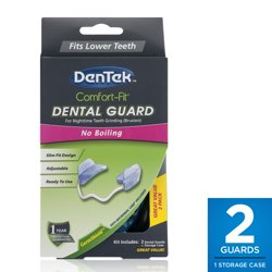 DenTek Comfort-Fit Dental Guard Kit, For Nighttime Teeth Grinding