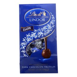 Lindt Truffles Dark Chocolate Bag, 5.1 OZ