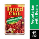 Hormel Chili Vegetarian with Beans, 15 Ounce