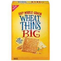 Wheat Thins BIG Whole Grain Wheat Crackers, 8 oz