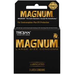 MAGNUM Large Size Condoms, 3ct