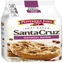 Pepperidge Farm Santa Cruz Soft Baked Oatmeal Raisin Cookies, 8.6 oz. Bag