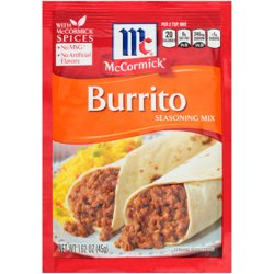 McCormick Burrito Seasoning Mix, 1.62 oz