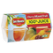 (4 cups) Del Monte Fruit Cup Snacks Cherry Mixed Fruit in 100% Juice 4 oz fruit cups