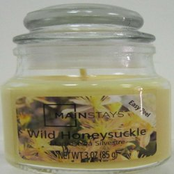 Mainstays Jar Candle, Wild Honeysuckle, 3 oz