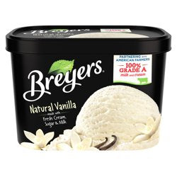 Breyers Original Natural Vanilla Ice Cream 48 oz
