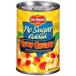 Del Monte Very Cherry Mixed Fruit, 14.5 Oz