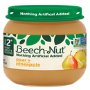 Beech-Nut® Baby Food Jar, Stage 2, Pear & Pineapple, 4 oz