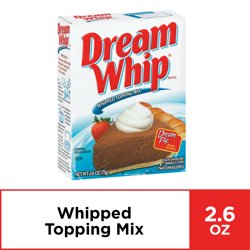 Dream Whip Whipped Topping Mix, 2.6 oz Box