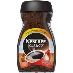 NESCAFE CLASICO Dark Roast Instant Coffee 3.5 oz. Jar