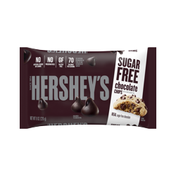 Hershey's, Sugar Free Chocolate Baking Chips, 8 Oz.