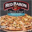 RED BARON Pizza, Classic Crust Mexican-Style, 21.03 oz