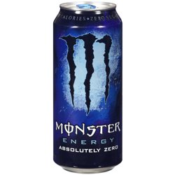 Monster Absolutely Zero Energy Drink, 16 Fl. Oz.