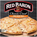 RED BARON Pizza, Classic Crust Four Cheese, 21.06 oz