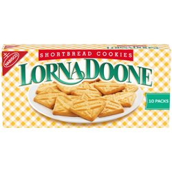 Lorna Doone Shortbread Cookies, 10 Packs (4 Cookies Per Pack)