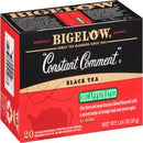 Bigelow Constant Comment Decaffeinated, Black Tea, Tea Bags, 20 Ct