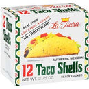 La Tiara Authentic Mexican Taco Shells, 2.75 oz, 12 Count