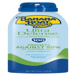 Banana Boat Ultra Defense Clear Sunscreen Spray SPF 100, 6 oz