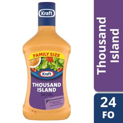 Kraft Thousand Island Dressing, 24 fl oz Bottle