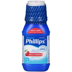 Phillips; Wild Cherry Milk of Magnesia Liquid, 12-Ounce