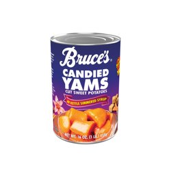 Bruce's Yams Candied Sweet Potatoes in Kettle Simmered Syrup, 16 oz.
