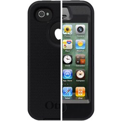 OtterBox Apple iPhone 4/4s Case Defender Series, Black