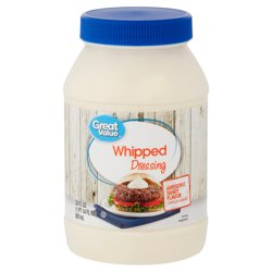 Great Value Whipped Dressing, 30 fl oz