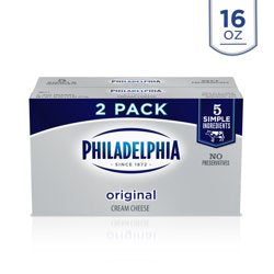 Philadelphia Original Cream Cheese, 2 ct - 8 oz Packages