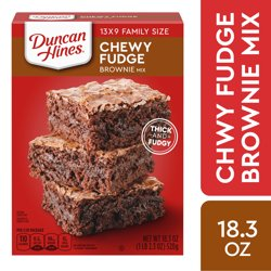 Duncan Hines Chewy Fudge Brownie Mix 18.3 oz
