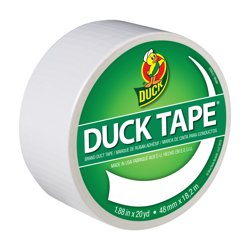 Duck Tape Brand 1.88 In. x 20 Yd. White Color Duct Tape