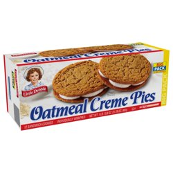 Little Debbie Big Pack Oatmeal Creme Pies, 32 oz