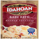 Idahoan Baby Reds Mashed Potatoes - Gluten-Free, Real Idaho Potatoes - 1 Pouch (4 Servings)