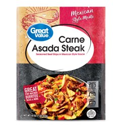 Great Value Mexican Style Eats Carne Asada Steak, 16 oz