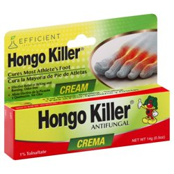 Hongo Killer Foot Cream .5 Oz