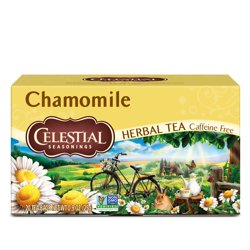Celestial Seasonings, Chamomile Herbal Tea, Tea Bags, 20 Ct
