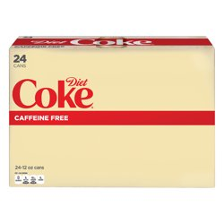 Coca-Cola Caffeine-Free Diet Coke, 12 Fl. Oz., 24 Count