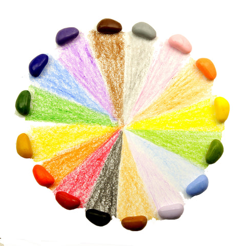 Crayon Rocks - 16 Colours  - No Bag