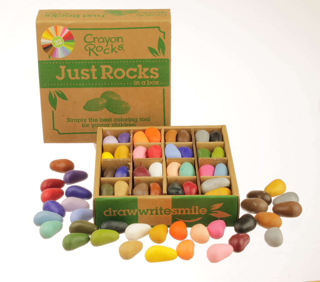 Crayon Rocks - 32 - Just the Rocks in a Box